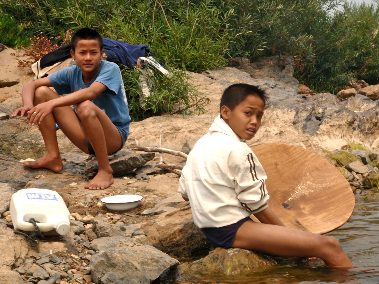 Panning for Gold in Laos | Green Around